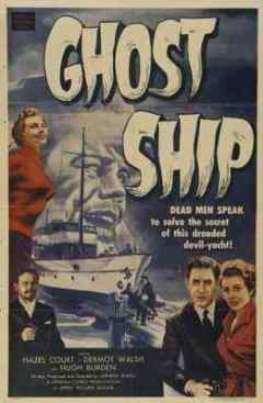 Ghost Ship 1952 movie poster