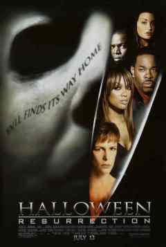 Halloween Resurrection movie poster
