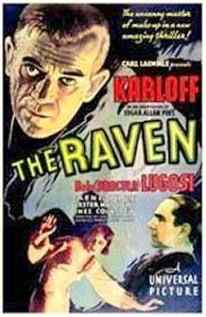 The Raven 1935 movie poster