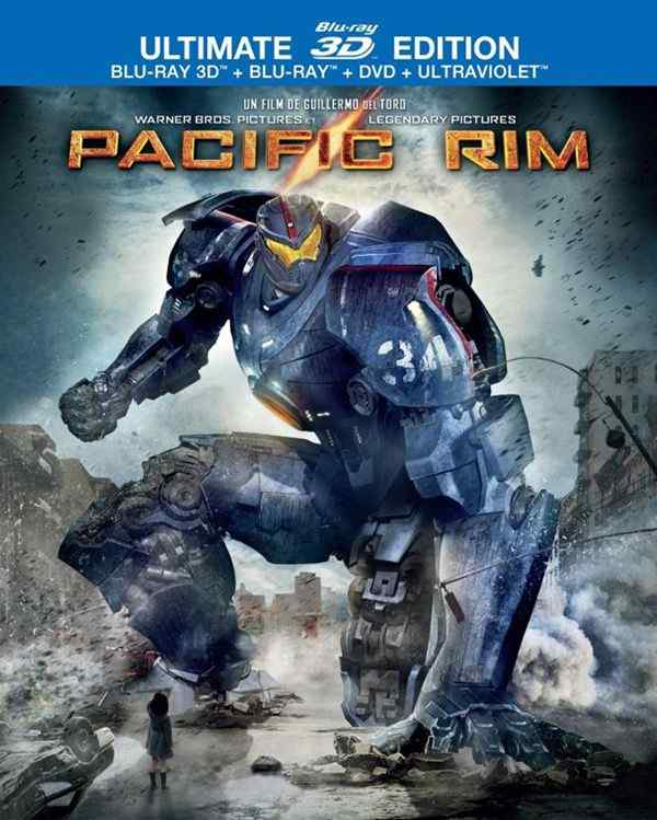 Pacific Rim Bluray cover