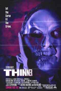 Stephen King's Thinner movie poster