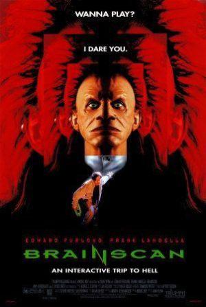 Brainscan movie poster