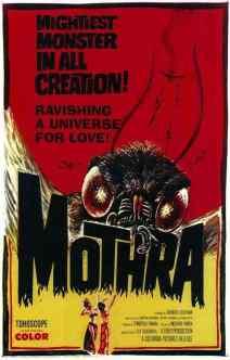 Mothra movie poster 2