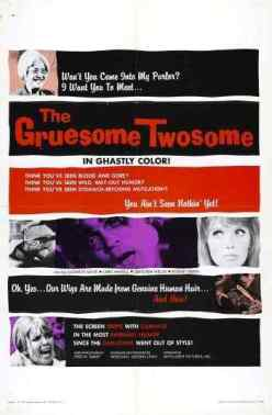 The Gruesome Twosome movie poster