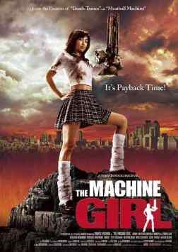 The Machine Girl movie poster