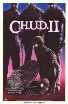 CHUD II movie poster
