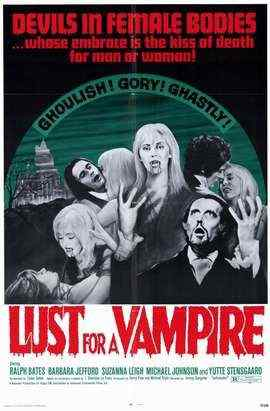 Lust for a Vampire movie poster