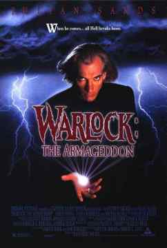 Warlock The Armageddon movie poster