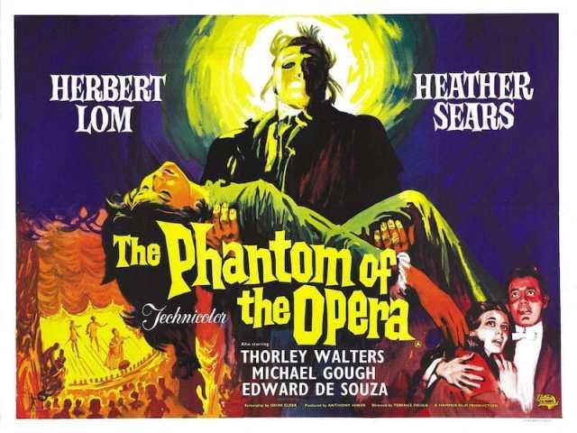 The Phantom of the Opera 1962 quad