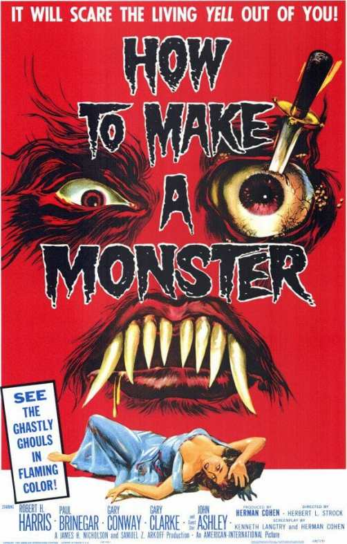 How to Make a Monster movie poster