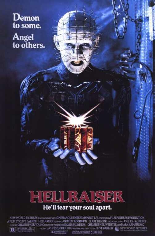 Hellraiser movie poster