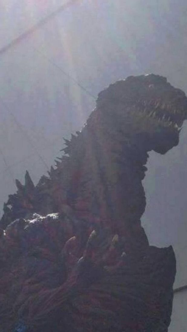 See New Leaked Photos Of Toho U0026 39 S  U0026 39 Godzilla Resurgence
