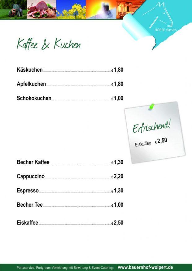 Kaffe und Kuchen HC 2016