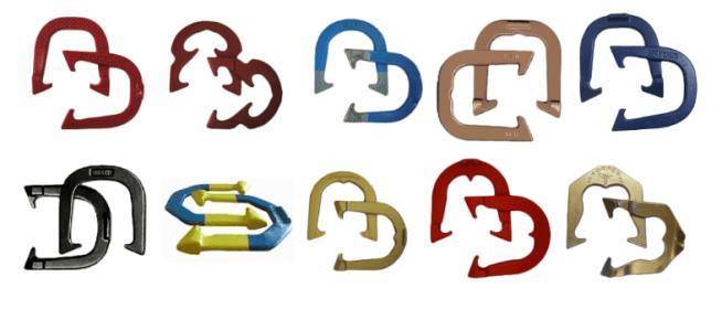 Horseshoe styles