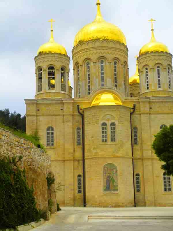 מוסקוביה - כנסיות עין כרם