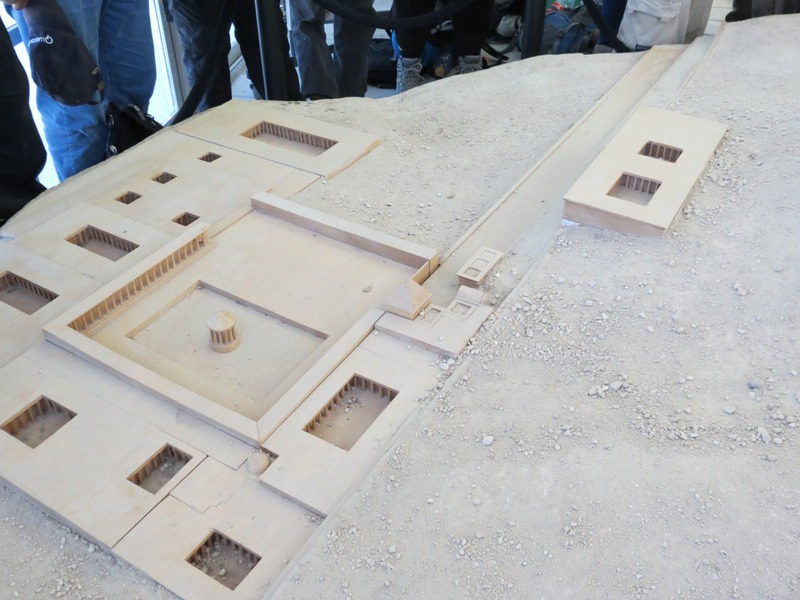 מודל הארמון בהרודיון
