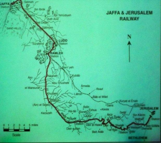 מסילת הרכבת יפו-ירושלים