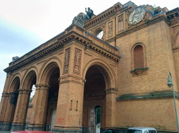 The Anhalter Bahnhof