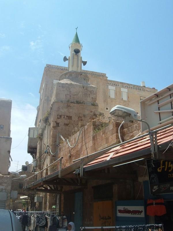 מסגד אל-מועלק - המסגד והמינרט החדש שהוקם על בסיסו של קודמו צילום: Almog