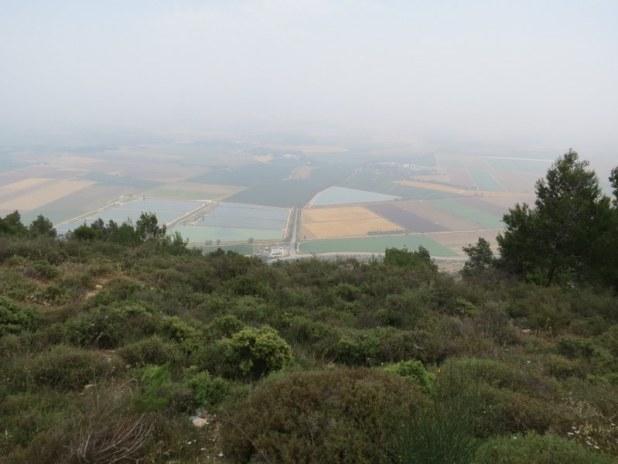 נוף מצפה חוסיין