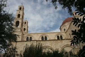 The Greek Orthodox St. Photini Church at Bir Ya'qub in 2008 צילום: r	Tiamat