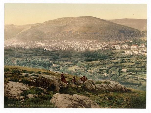 שכם והר עיבל בסוף המאה ה-19