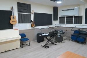 מתנ״ס דבוריה - חדר מוזיקה