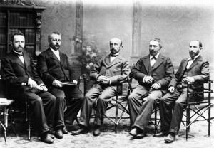 אחד העם וזאב גלוסקין. 1900-1927 - נחלת הכלל