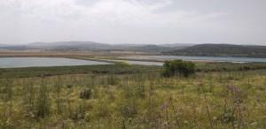 תצפית מתל חנתון לעבר אגם אשכול