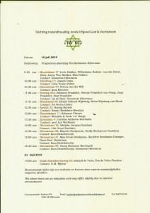Programma 10-6-2019 Struikelstenen Hilversum