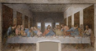 Depictions of the Last Supper in Christian art have been undertaken by artistic masters for centuries, Leonardo da Vinci's late-1490s mural painting in Milan, Italy, being the best-known example. Public Domain