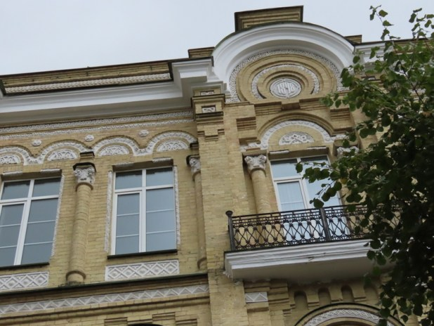 Note the Magen David in the decoration above the windows