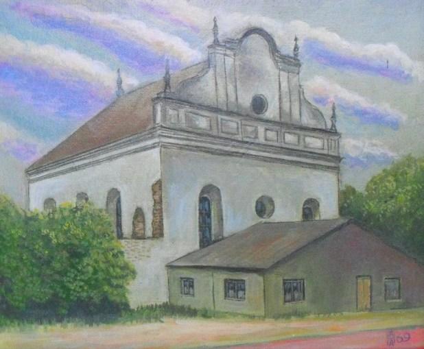 Anatoly Nalivaev . Shklovskaya synagogue .תמונה::NalivaevAA - בית כנסת בשקלוב
