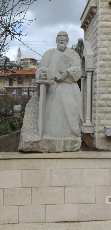 פסל מר מרון (מארון)