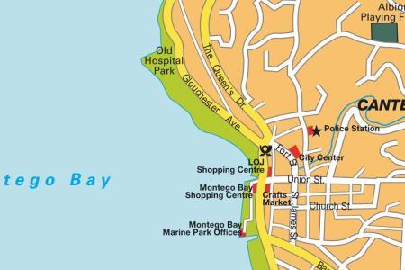 stadtplan montego bay 7812