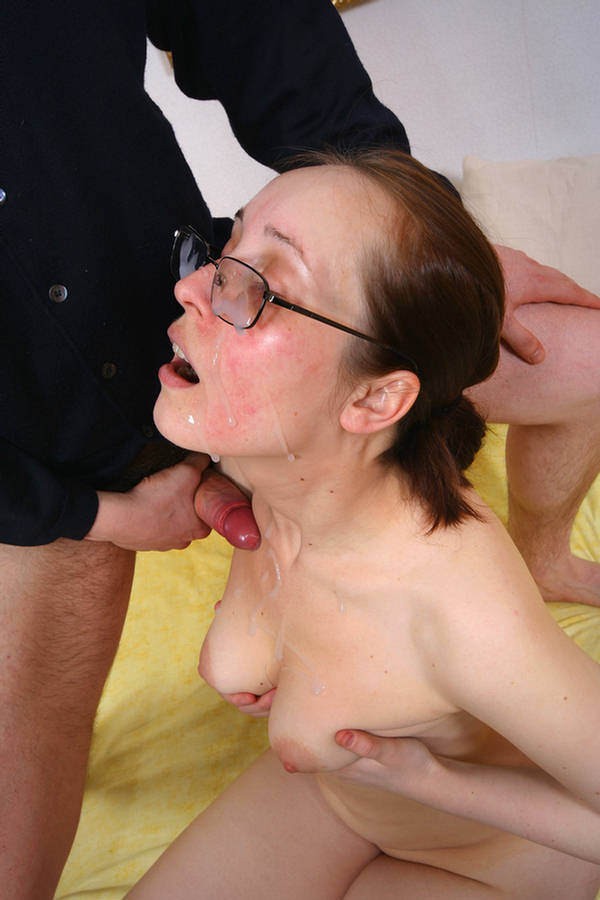 unwanted mouth full of cum