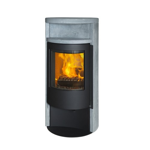 Medium Of Modern Wood Burning Stove