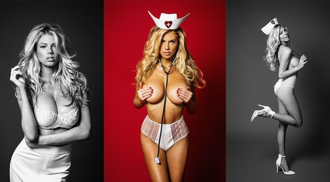 Charlotte McKinney – Galore Magazine Photoshoot