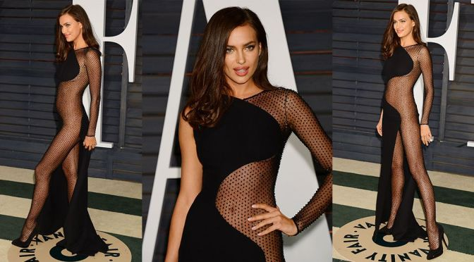 Irina Shayk – Vanity Fair Oscar Party in Hollywood