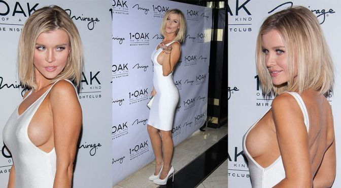 Joanna Krupa – Braless Candids at 1 OAK Nightclub in Las Vegas