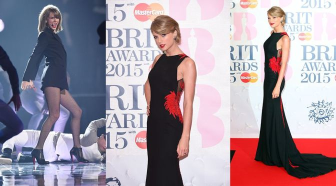 Taylor Swift – BRIT Awards in London