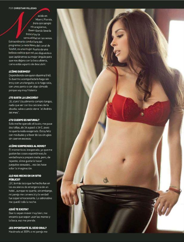 ... 2015 1441 × 1890 Gwen Garcia – H Para Hombres Magazine (March 2015