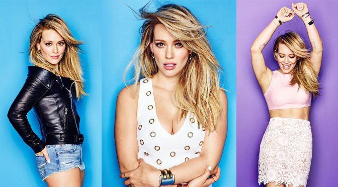 Hilary Duff – Cosmopolitan Magazine (April 2015)