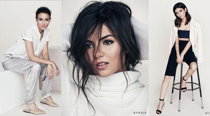 """Victoria Justice – """"Byrdie"""" Photoshoot"""