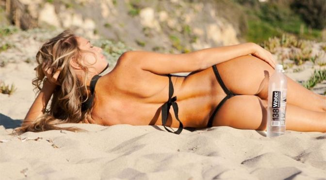 "Charlie Riina – ""138 Water"" Photoshoot in Malibu"