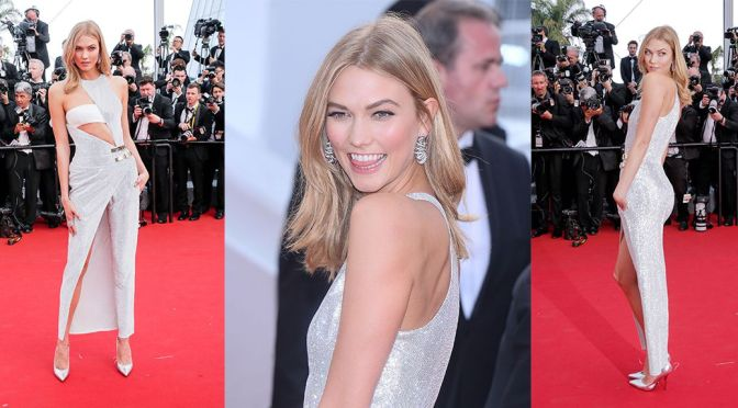 "Karlie Kloss – ""La Tete Haute"" Premiere in Cannes"