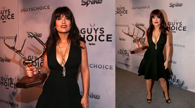 Salma Hayek – Spike TV's Guys Choice Awards in Culver City