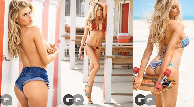 "Charlotte McKinney – ""Girl of Summer"" GQ  Magazine Photoshoot"