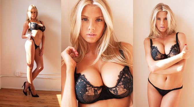 Charlotte McKinney – Lingerie Photoshoot by Terry Richardson
