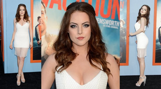 "Elizabeth Gillies – ""Vacation"" Premiere in Westwood"
